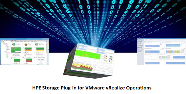 HPE Storage Management Pack for VMware vRealize Operations - VMware