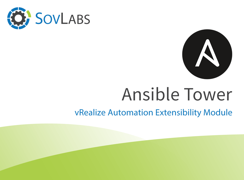 Ansible Tower from SovLabs - VMware Solution Exchange