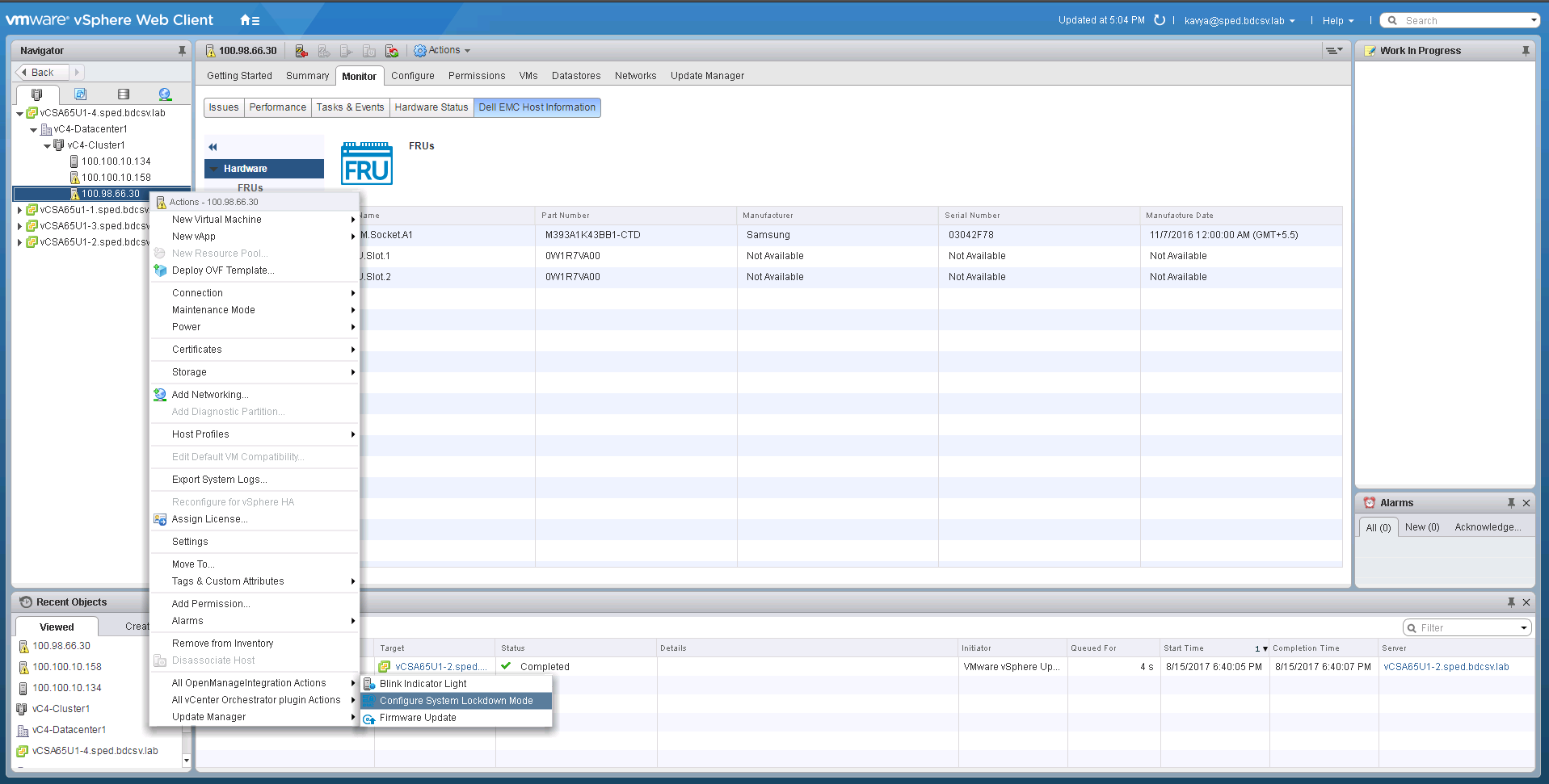 OpenManage Integration for VMware vCenter - VMware Solution Exchange