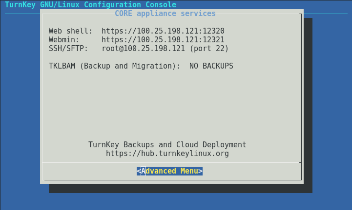 TurnKey Core Appliance - VMware Solution Exchange