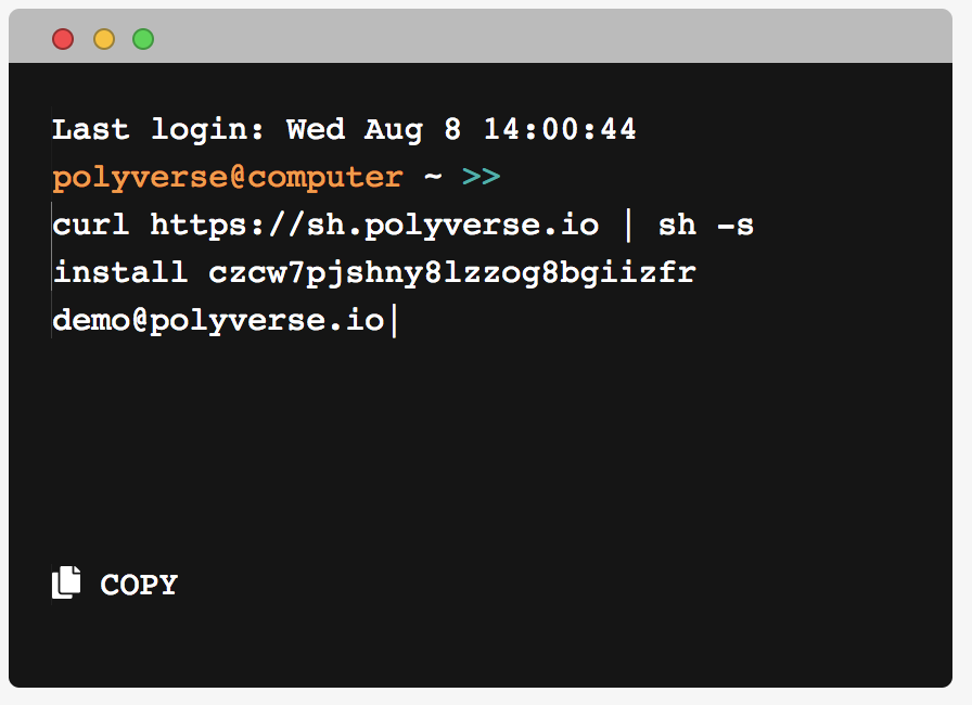 Polyverse's polymorphic version of Linux - VMware Solution Exchange