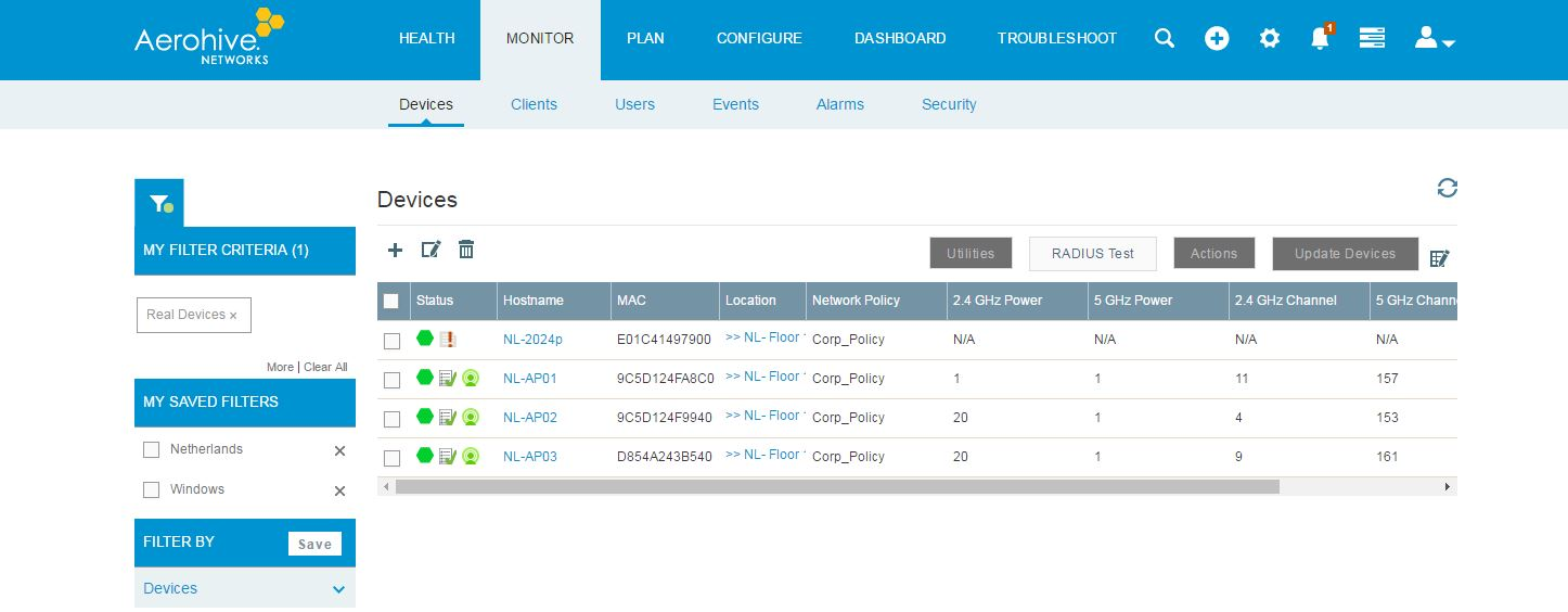HiveManager NG Virtual Appliance - VMware Solution Exchange