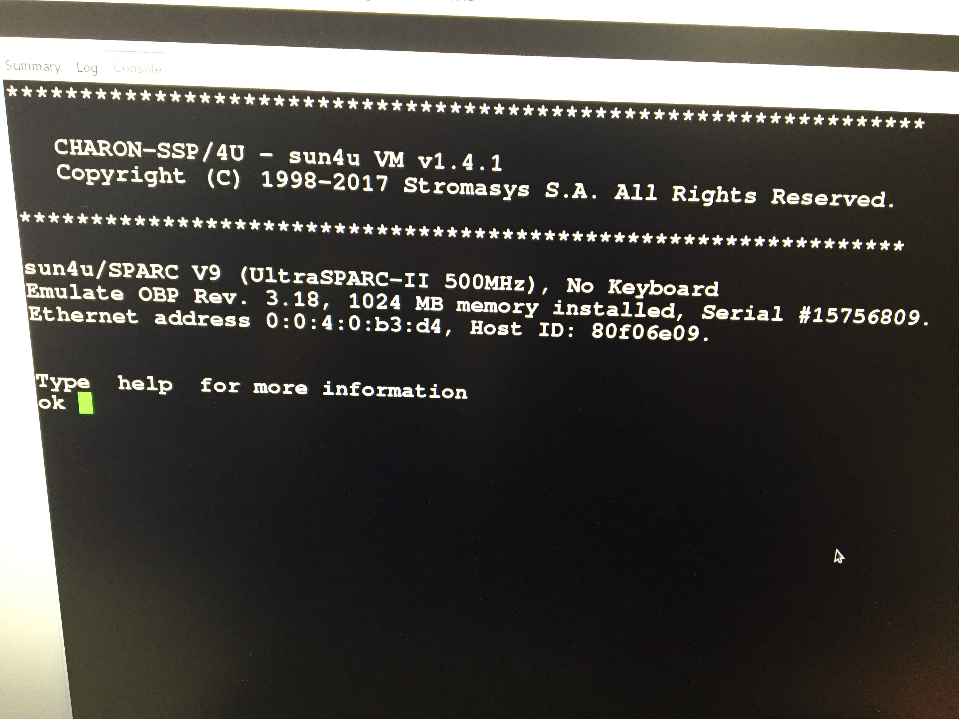 Vmware Marketplace Virtual Sparc On X86